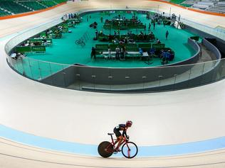 Mayor Eduardo Paes Delivers the Velodrome to the Rio 2016 Committee