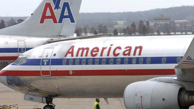 American Airlines cabin crew were wise to the man's tricks.