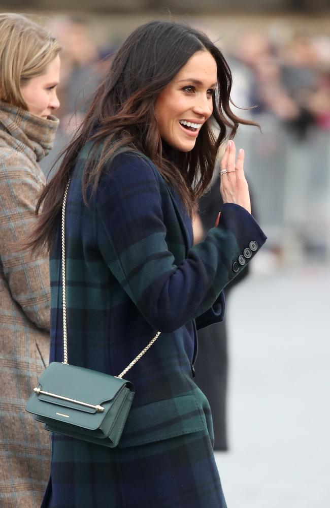 Meghan Markle again proved a huge hit with royal fans. Picture: Chris Jackson/Chris Jackson/Getty Images