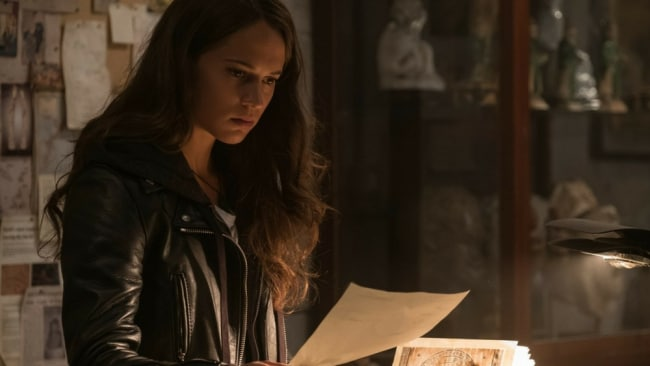 Alicia Vikander in 'Tomb Raider'. Photo: Roadshow