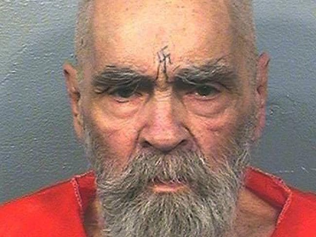 Charles Manson (pictured) was the mastermind behind a string of murders in Los Angeles in the 1960s. He died last year. Photo: California Department of Corrections and Rehabilitation