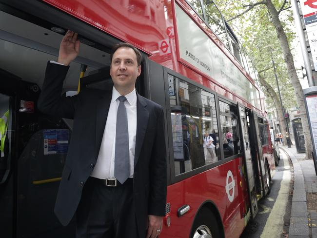 Australian Trade Minister Steven Ciobo in London. Picture: Ella Pellegrini