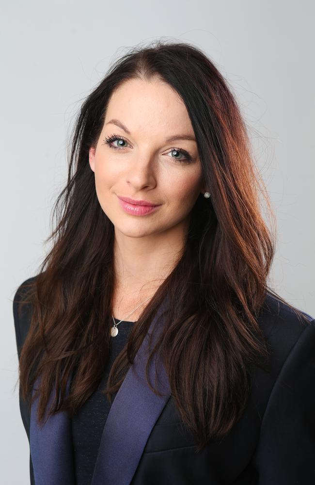 Channel 7 reporter Laura Banks.