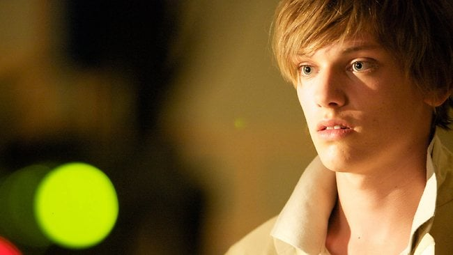 Jamie Campbell Bower as 11-12 in six-part TV series The Prisoner. Picture: ITV Studios