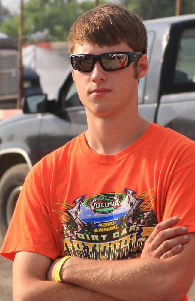 Sprint car driver Kevin Ward Jr, who was killed in the incident.