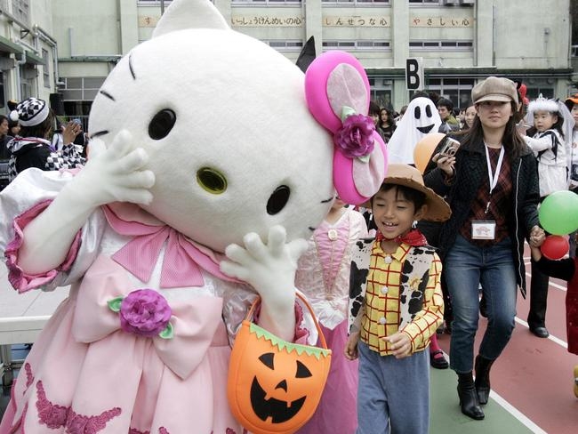 At a Halloween parade in Japan. Pic: AFP.