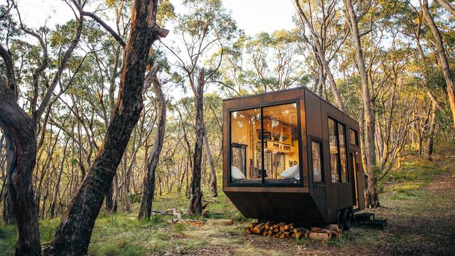 Cabn Jude can be rented for $190 a night in the Adelaide Hills.