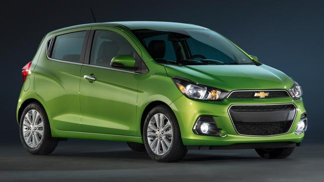Bright spark ... The Chevrolet Spark will become Holden's new budget-priced city car in 2016. Picture: Supplied