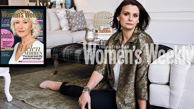 Toni McHugh in a photoshoot for The Australian Women's Weekly. Photo: AWW.
