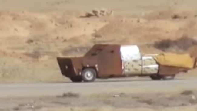 Image result for ISIS Now Using 'Mad Max' Style Suicide Vehicles