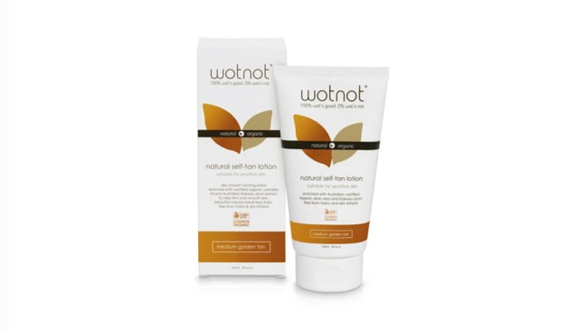 WOTNOT natural self-tan lotion, $29.99