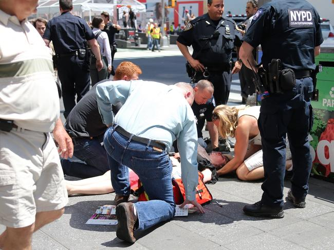 A total of 22 people were injured in the incident and a teenager visiting the city was killed. Picture: Diimex.