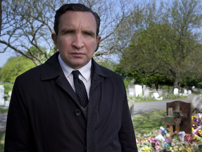 Eddie Marsan plays a council worker arranging funerals for people who die alone in  <i>Still Life</i>.