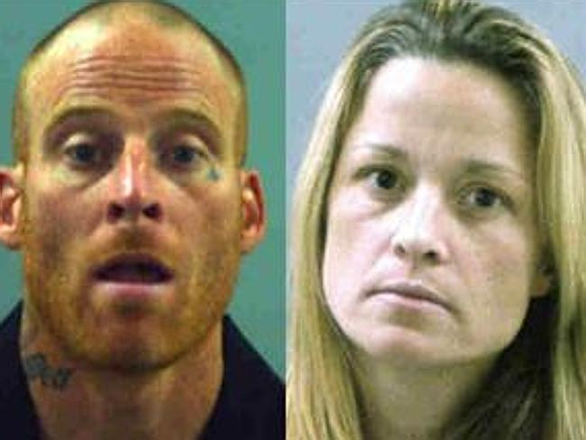 Police mugshots of Eric and Dea Millerberg.