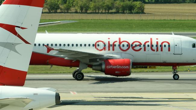 Not even airline giant Etihad could save Air Berlin. Picture: HELMUT FOHRINGER