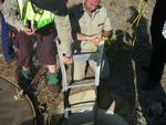The RSPCA rescues puppies from an underground bunker on a Wheatbelt property.