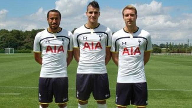 Spurs will be decked out in a solid, no frills home kit this season.  <b>Away</b> <b></b>