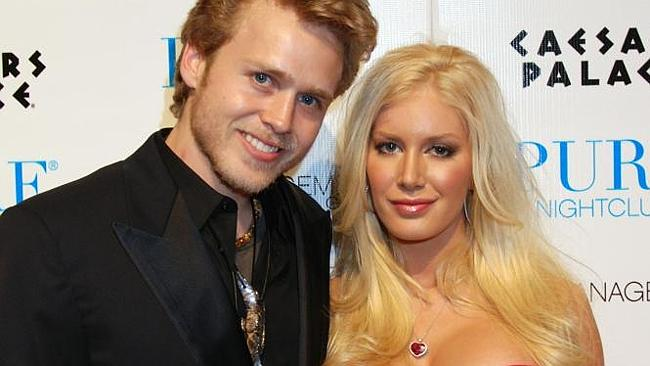 Heidi Montag's attempt at fashion design was a predictable flop. Pictured with Spencer Pratt. Picture: Splash.