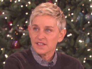 Ellen's latest guest is pretty hard to scare.