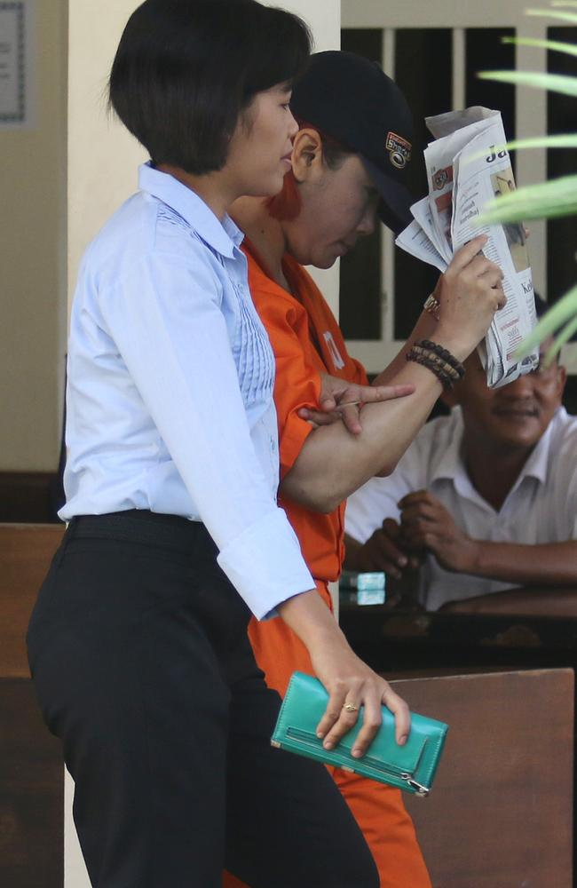 Accused ... Noor Ellis has been arrested with three others, including two of her maids. Picture: Lukman S. Bintoro