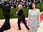 "Kris and Kylie Jenner attend the ""Manus x Machina: Fashion In An Age Of Technology"" Costume Institute Gala at Metropolitan Museum of Art on May 2, 2016 in New York City. Picture: AFP"