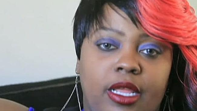 Latoya Ammons has three exorcisms performed on her. Picture: Screengrab/FoxNews