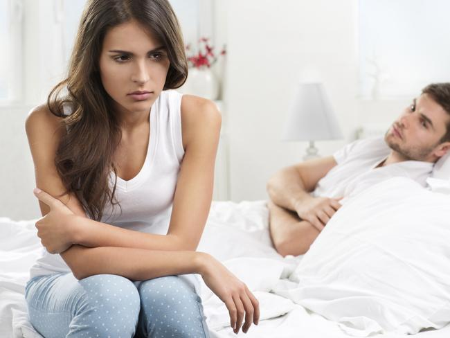 Dissatisfied ... single people felt better about themselves than those in bad relationships. Picture: Thinkstock