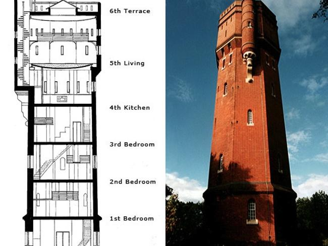 Munstead water tower.