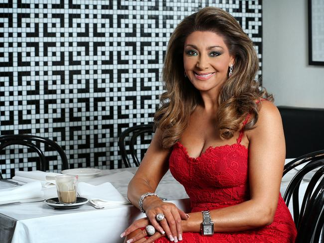 Toorak barrister Gina Liano might star in The Real Melbourne Housewives of Melbourne, but she is more likely to be in the courtroom than folding socks, and is not married to her long-term partner. The HILDA survey found that the average Australian man is happier with a stay-at-home wife. Picture: Mark Stewart