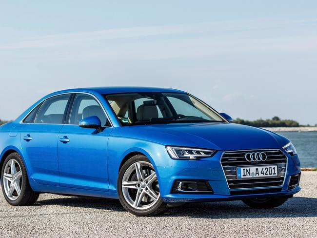 The new Audi A4 which is priced at $55,500. Picture: Bob Barker