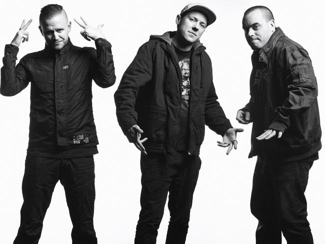 Smith says the Hilltop Hoods' latest music reflects their expanding musical horizons. Picture: Nigel Lough