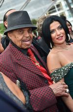 "Michael Jackson's father Joe Jackson arrives for the screening of the film ""Sicario"" at the 2015 Cannes Film Festival. Picture: AFP"