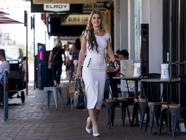 Anja Stefanovic has just bought an apartment in West Leederville and says nearby amenities were a big bonus. Picture: Matthew Poon