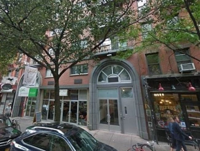 The Manhattan apartment block where Australian diplomat Julian Simpson fell to his death. Picture: Google