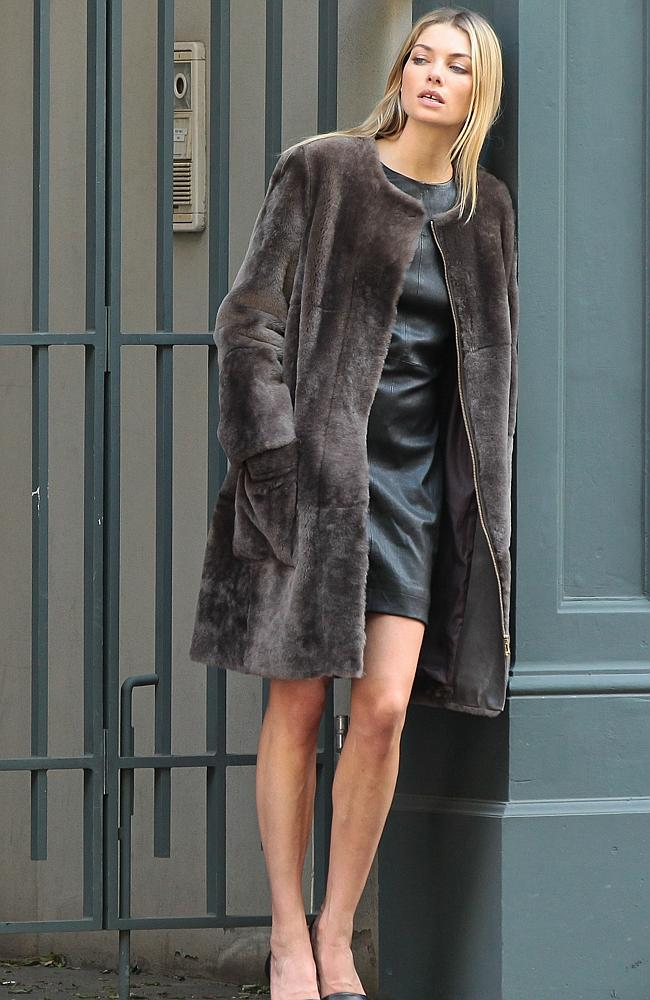 Jess masters leather AND fur.