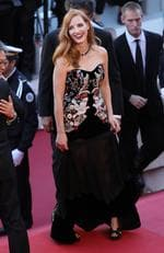 "Jessica Chastain attends the ""Ismael's Ghosts (Les Fantomes d'Ismael)"" screening and Opening Gala during the 70th annual Cannes Film Festival at Palais des Festivals on May 17, 2017 in Cannes, France. Picture: Getty"
