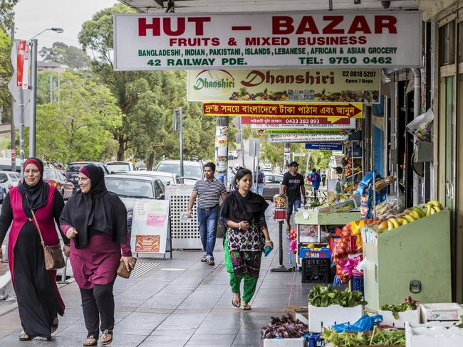 Sydney's west is home to many socially conservative and religious immigrant populations. Picture: Sarah Keayes