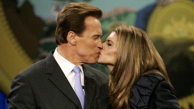 Schwarzenegger Shriver Separation