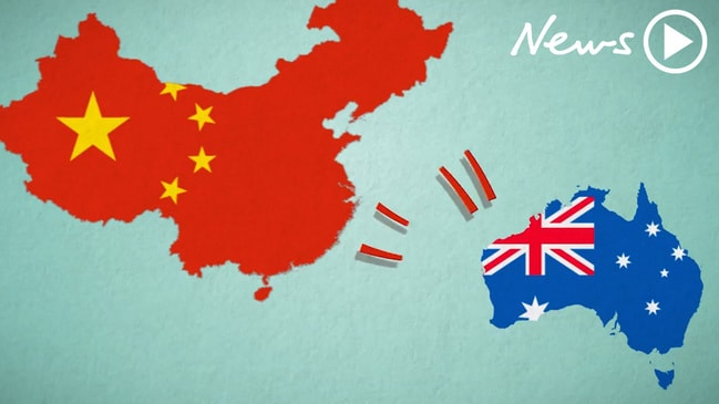 Global economy map that shows false hope china is one of australias major trading partners and that relationship has seen us through the gfc and other economic upheavals gumiabroncs Choice Image