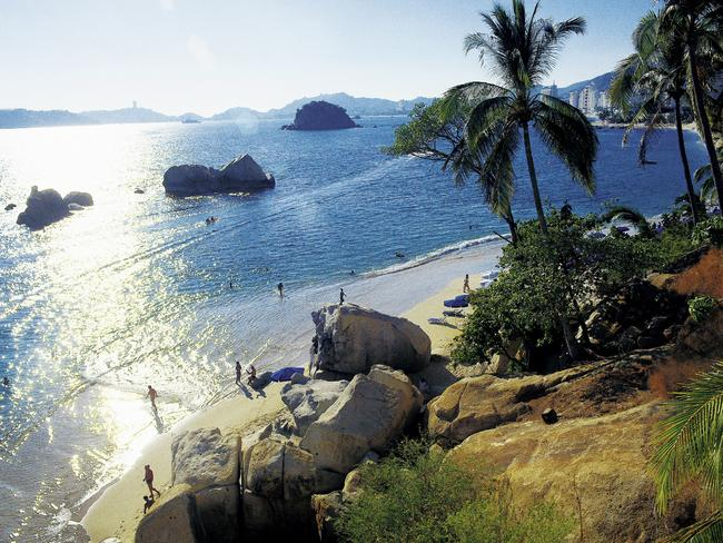 Acapulco was once revered as one of the world's most beautiful tourist destinations, even becoming the subject of '80s hit 'Loco in Acapulco'. Picture: Princess Cruises