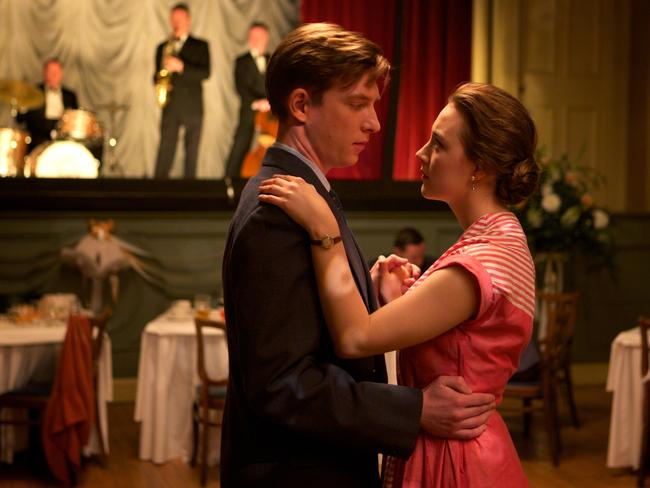 Domhnall Gleeson stars as Jim with Saoirse Ronan as Eilis in a scene from Brooklyn. Picture: Kerry Brown.