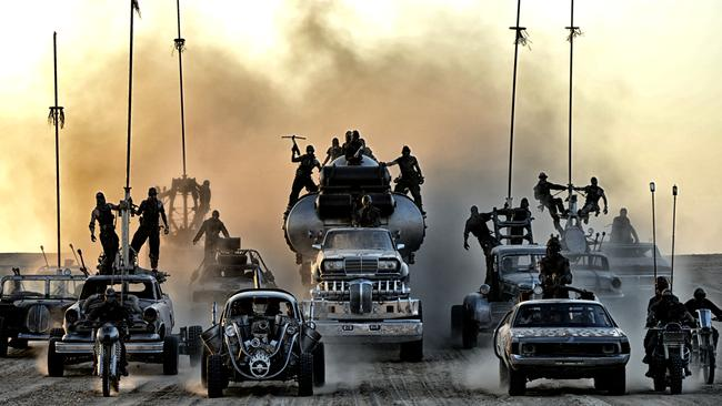 A long time coming for fans ... a still from <i> Mad Max: Fury Road</i>.