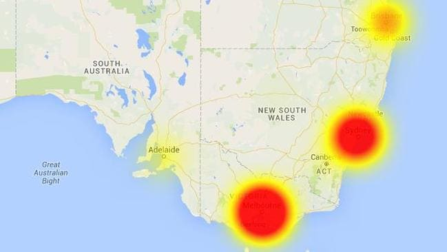 IT'S another day and another major outage for Telstra customers