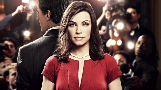 Julianna Margulies and Chris Noth in TV show The Good Wife. Picture: Supplied