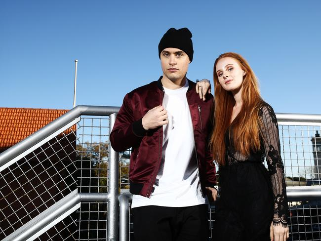 Illy and Vera Blue's collaboration helped propel his Two Degrees album to huge success. Picture: Tim Hunter.