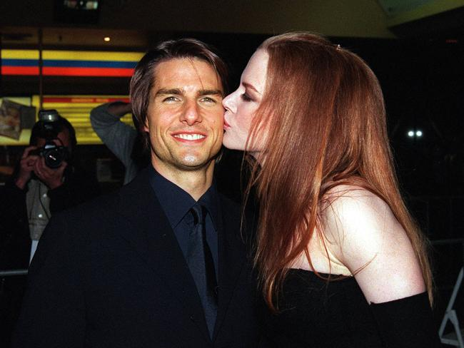 All loved up at the Sydney premiere of Eyes Wide Shut in 1999.