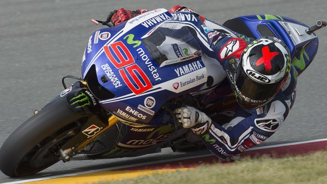 Lorenzo will race in Yamaha blue until the end of 2016.