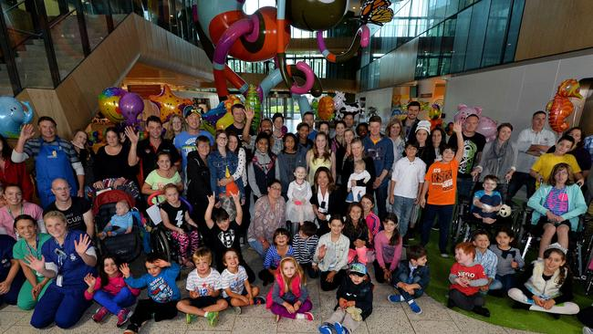 AFL boss Gillon McLachlan has acknowledged the importance of tying Good Friday footy in with the Royal Children's Hospital appeal.