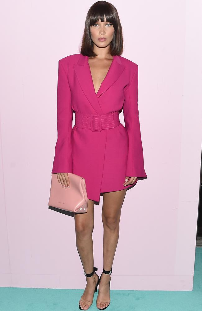 Bella Hadid attends the 2017 CFDA Fashion Awards Cocktail Hour at Hammerstein Ballroom on June 5, 2017 in New York City. Picture: Nicholas Hunt/Getty Images