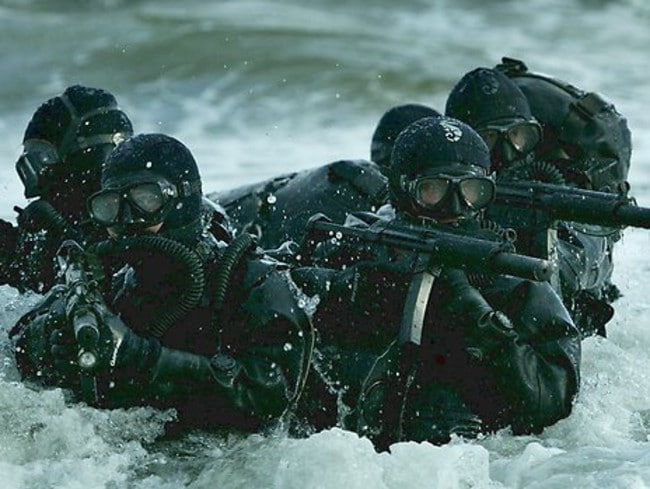 Elite US Navy Seals are reportedly ready to strike the North Korean dictator. Picture: Supplied